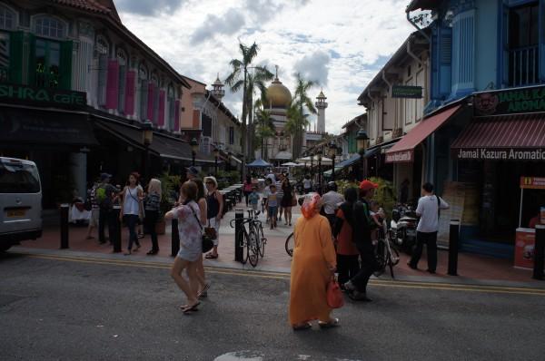 Walking around Arab Street
