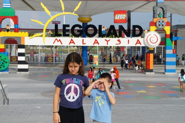 Day 1: Crossed the boarder into Malaysia to go to LegoLand