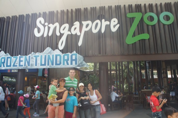 Day 4:  Met up with cousins that are living in Singapore and spent the day at the zoo.