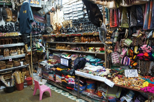 We bought some inexpensive souvenirs here...and the locals even have a loptop at their shop to get on FaceBook