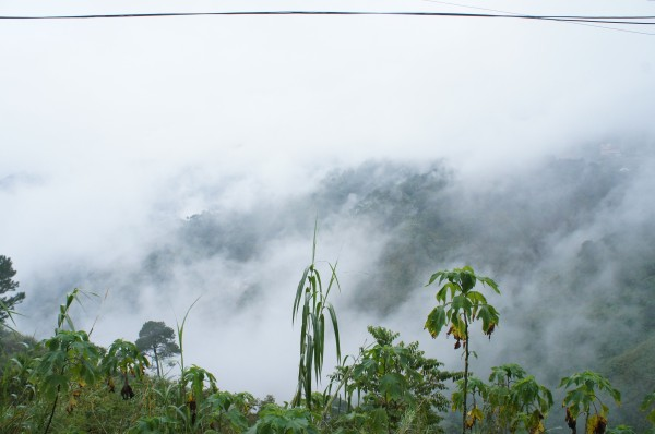 The clouds would come and go on our drive to Banaue...but it was still a beautiful drive