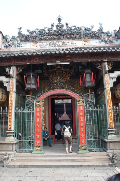 Thien Hau Pagoda had amazing artistry