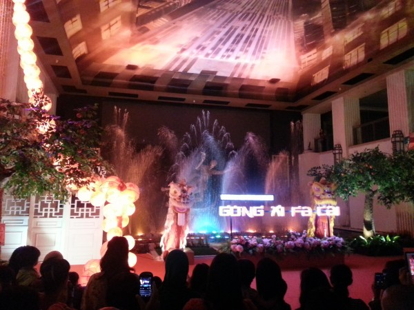 Also at the Grand Indonesia they have this music/water show that lasts about 5-10 minutes and was pretty fun to watch