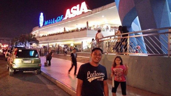 I don't know if Sherwin had ever seen a mall this size or as many malls as we took him to before