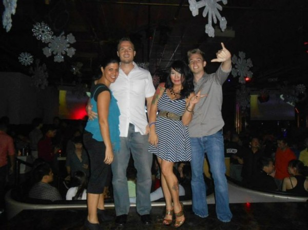 We spent an evening at Republiq Dance Club with friends