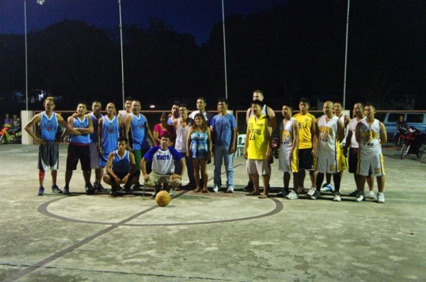 We couldn't leave Siquijor without a basketball game...or 2 or 3 or 4! Matt was invited to play with the police against a club team one evening
