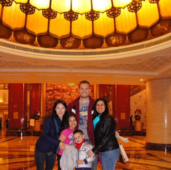 Our last photo with our tour guide Iris who we highly recommend at the hotel