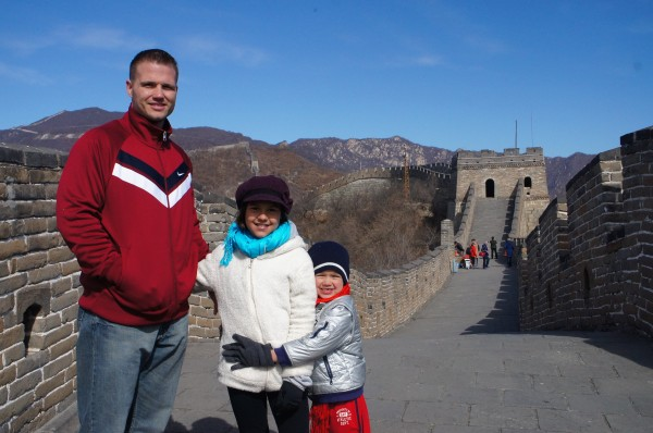 We wished Kalani a Happy 10th birthday on the Great Wall of China