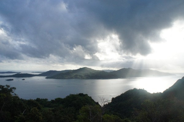 We left the Bicol region around 7am and again enjoyed the beautiful view of that area of the Philippines. 12 hours later we were at home nursing Kalani's wound