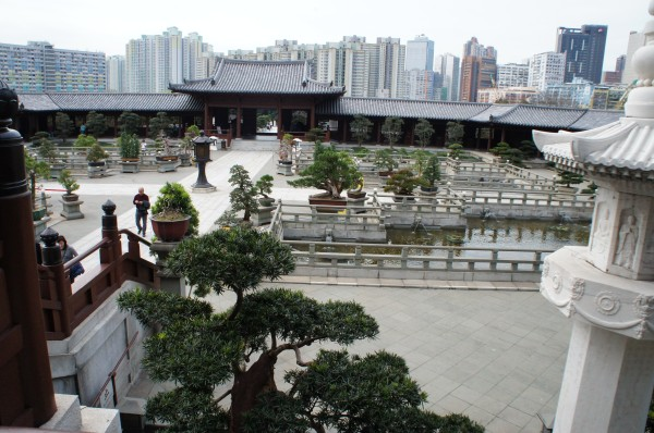 Chi Lin Nunnery in Hong Kong was very peaceful, although we never saw any nuns while there