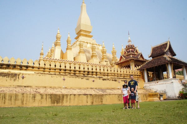 The Farley Family enjoyed Laos and all that we were able to see and do there