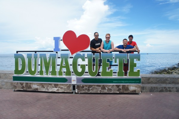 These guys flew to Dumaguete from Manila, and then took the hour long ferry boat to get to Siquijor