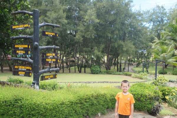 Our hotel on the north/west of Luzon was at Fort Ilocandia and it was wonderful. There was so much to do/see at the resort