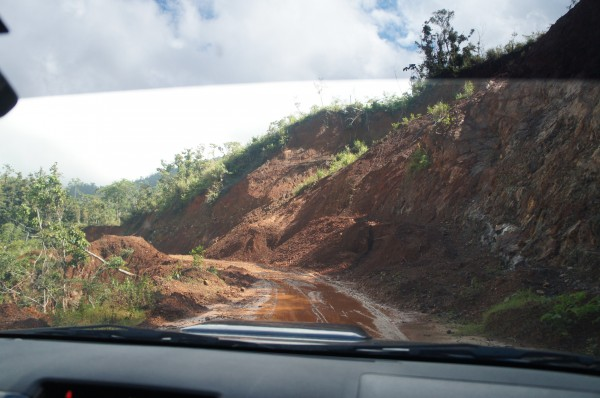 We left Baler and the only road to get to Tuguegarao was a bit scary at times with it only being dirt roads and even some roads were washed away