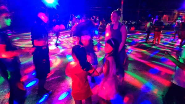 And they danced the night away with cousins and new friends