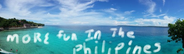"""A favorite phrase from my 17 year old brother: """"I can't, I'm only 17!"""" And he posted this photo that lets us know he had a good time with us...now he just needs to learn how to spell Philippines, or at least use spell-check!"""
