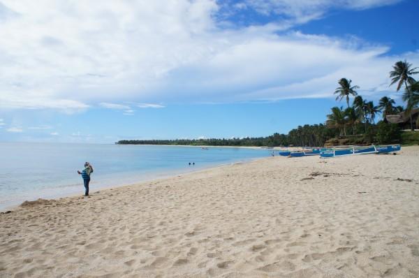 We stopped at Padgudpud beach and enjoyed the powder white sand and beautiful scenery