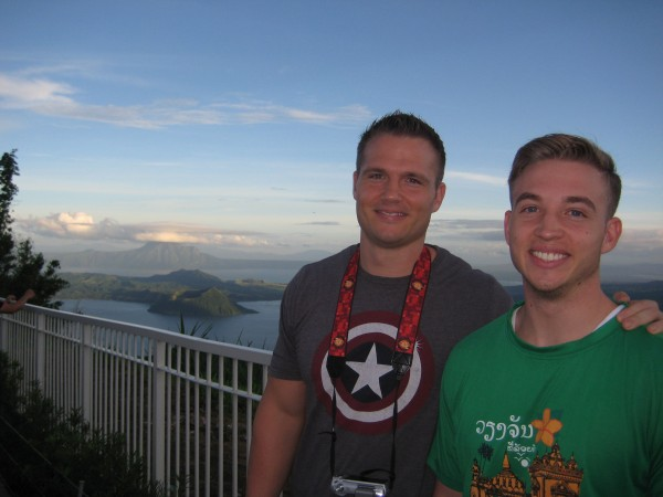 The boys also took their parents to Sky Ranch in Tagaytay so they can see life outside of Manila