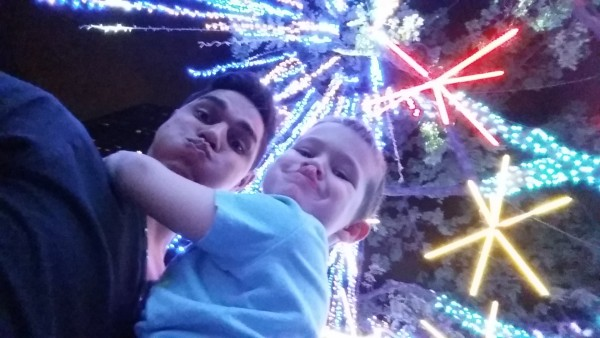 Annual Light Show at Ayala Triangle
