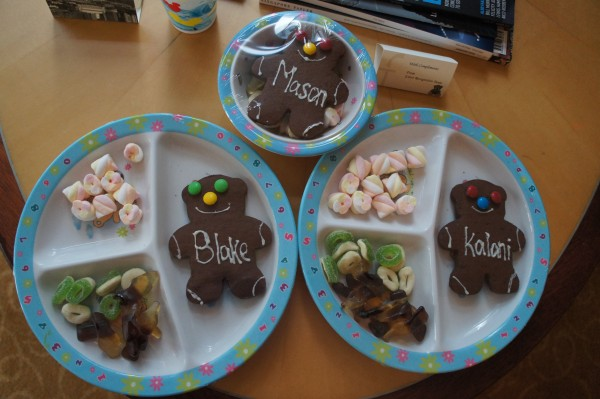 The Fullerton staff spoiled our children and gave them their own plate of sweets. We love how friendly the Asian people are to our family.