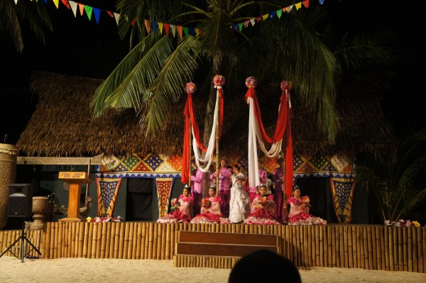 We were able to enjoy dancers while we ate outside one evening at Coco Grove.