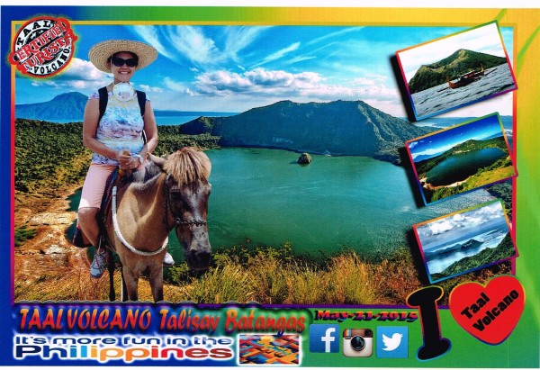 The girls went to Taal Volcano while I stayed home one day. It is always nice to get out of the city.
