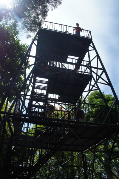 We went to the lookout tower that is the the middle of Siquijor Island.