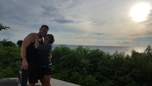 It was long weekend to be able to spend time together as a couple and enjoy a new hobby of scuba diving together.