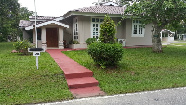 The home on the compound that we stayed at while in Indonesia