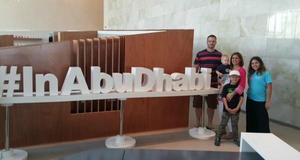 Farleys are in Abu Dhabi