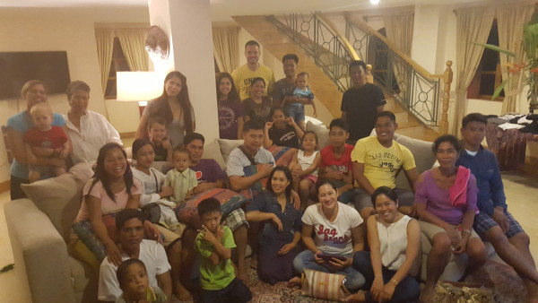 Nearly 30 decedents from grandpa Limary/Limatoc together for Christmas in Siquijor.