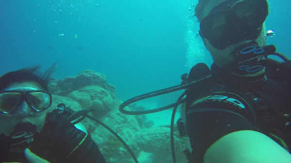 We had a great time doing six dives together and creating wonderful memories.