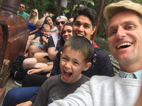 One crazy group at the jungle safari