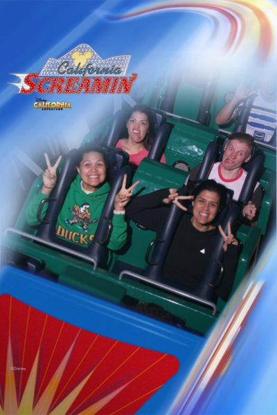We had a great time going on rides and making crazy faces.