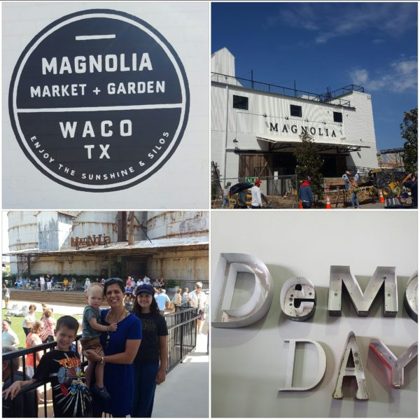 """We made the 2.5 hour drive to Waco to visit Magnolia Market. We are all fans of the HGTV show """"Fixer Upper"""" and had a wonderful in Waco. With rented Redbox movies for the kids to watch in the car, the drive wasn't that bad."""